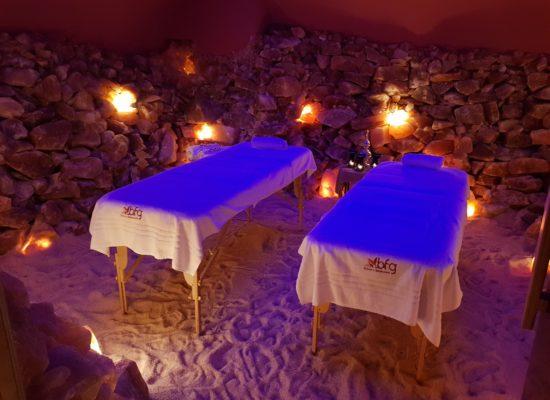 Massaggio in grotta di Sale