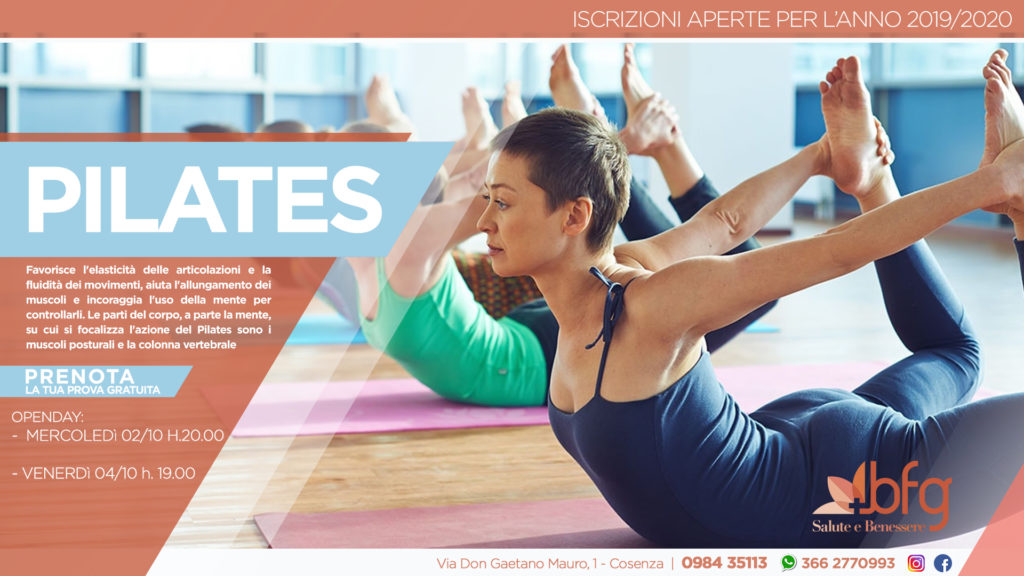 Corso Di Pilates A Cosenza Bfg Salute E Benessere Fitness