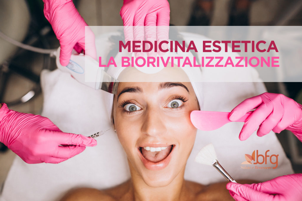 Biorivitalizzazione del viso, del collo e del decoltè